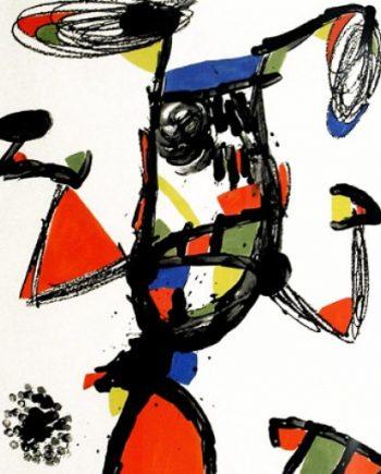 grabado miró Miró obra grafica majorette galeria fernandez-braso