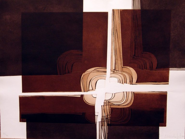 Amadeo Gabino grabado Ed200 50×65 1978