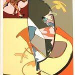 Barjola Perro Serigrafia 65×50 1981 Ed-200
