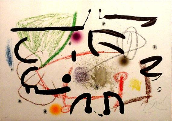 obra gráfica grabados Miro maravillas obra grafica joan miró galeria fernandez-braso madrid