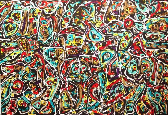 Saura Acumulación 2 galeria fernandez-braso