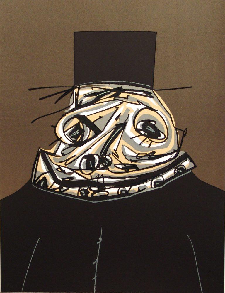 Saura Antonio Felipe II obra grafica galeria fernandez-braso