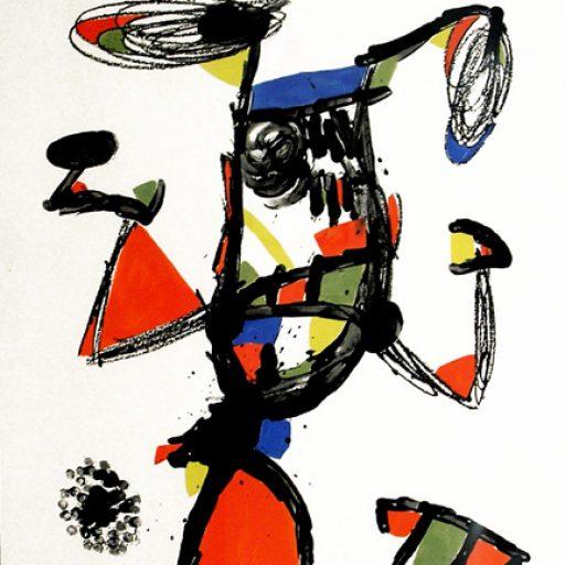 Miró obra grafica majorette galeria fernandez-braso