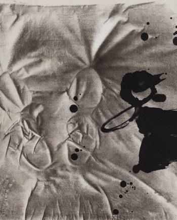 Obra grafica original de Tapies en la galeria fernandez-braso